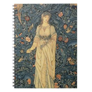 Carnet William Morris antique Flora
