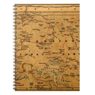 Carnet Yellowstone 1880