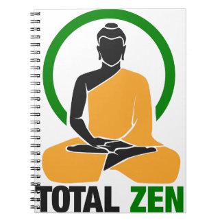 Carnet Zen total - paix, tranquilité, relaxation
