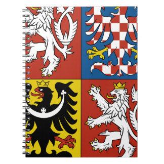 Carnet Znak České de Státní d'emblème de République