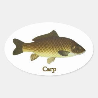 Carpe Sticker Ovale