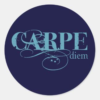 Carpe Diem Sticker Rond