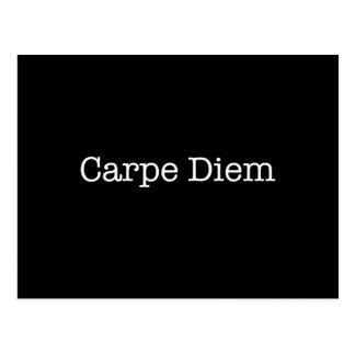 Carpe Diem saisissent la citation de jour - Carte Postale