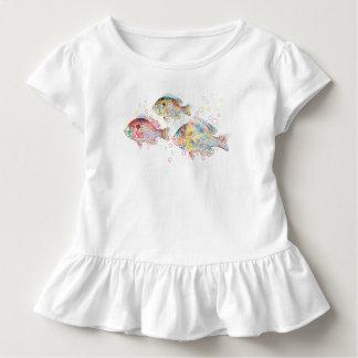 Carpes colorées t-shirt pour les tous petits