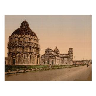Carré de cathédrale Pise Toscane Italie Cartes Postales