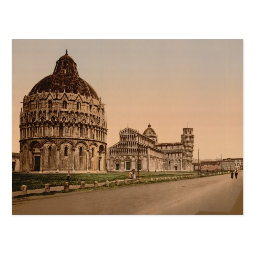 Carré de cathédrale, Pise, Toscane, Italie Cartes Postales