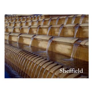 Carré de gerbe de Sheffield Cartes Postales