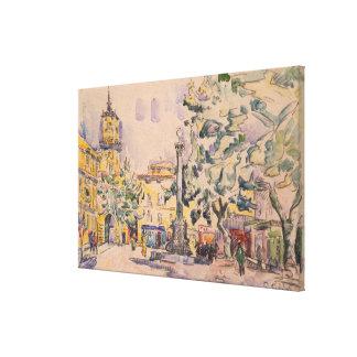 Carré de l'hôtel de Ville à Aix-en-Provence Toiles
