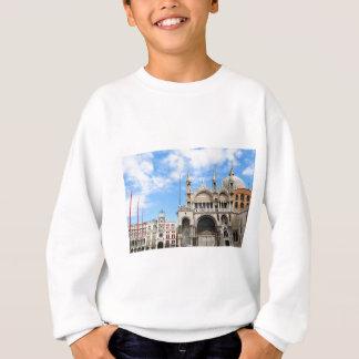 Carré de San Marco à Venise, Italie Sweatshirt