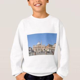 Carré de San Pietro à Vatican, Rome, Italie Sweatshirt