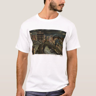 Carré de tonnelier au cru 1907 de New York City de T-shirt
