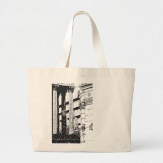 Carré de Victoria dans la copie Grand Tote Bag