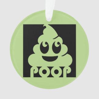 Carré d'Emoji Poo