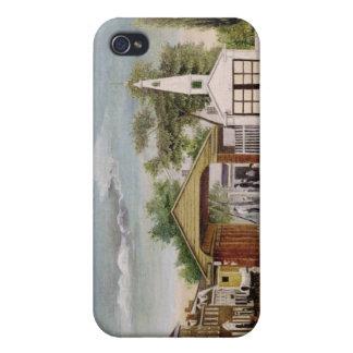 Carré du marché, Germantown, Pennsylvanie Coques iPhone 4/4S