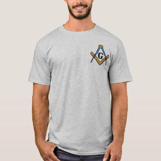 Carré et boussoles maçonniques t-shirt