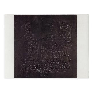 Carré noir de Kazimir Malevich- Cartes Postales