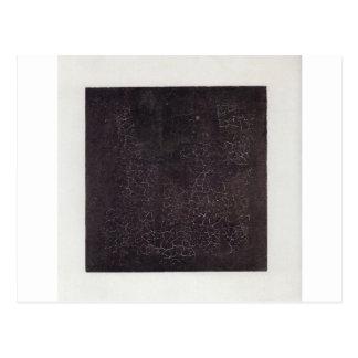 Carré noir par Kazimir Malevich Carte Postale