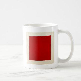 Carré rouge par Kazimir Malevich Mug Blanc