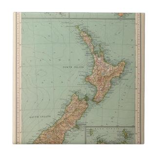 Carreau 169 Nouvelle Zélande, Hawaï, Tasmanie