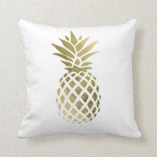 "Carreau 16"" de polyester d'ananas x 16"" coussin"