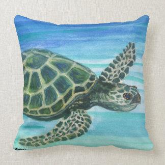 Carreau 20x20 Kihei réversible Maui /Turtle Oreiller
