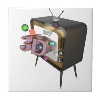 CARREAU 3D TV