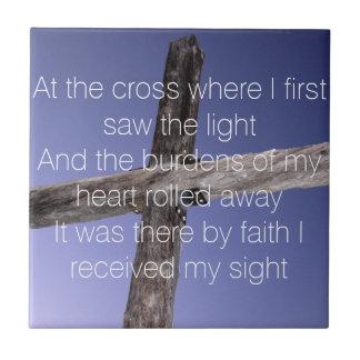 Carreau À la croix