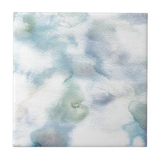 Carreau Abrégé sur minimal aquarelle