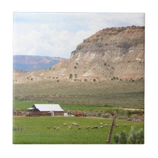 Carreau Agriculture du pays et des collines, l'Utah du sud