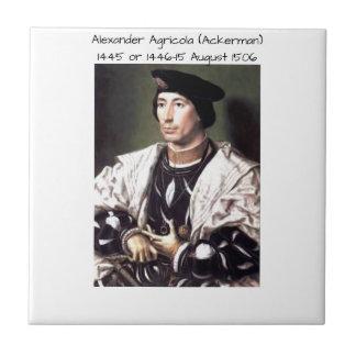 Carreau Alexandre Agricola (Ackerman)