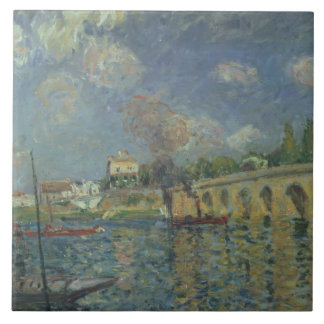Carreau Alfred Sisley | le pont