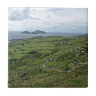 Carreau Anneau de position d'océan irlandaise de Kerry