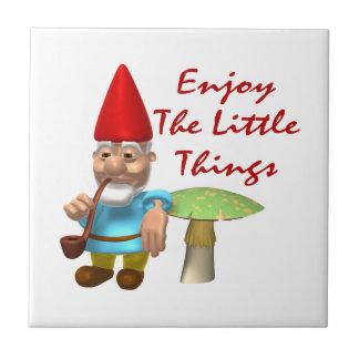 Carreau Appréciez le petit gnome de choses