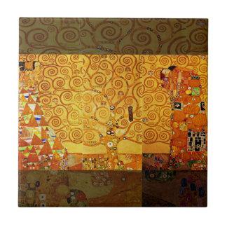 Carreau Arbre de Gustav Klimt d'art Nouveau de la vie