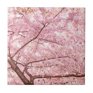 Carreau Arbres de fleurs de cerisier