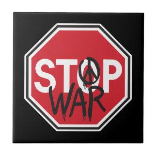 Carreau Arrêtez la guerre