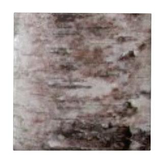 Carreau art blanc écallieux d'écorce