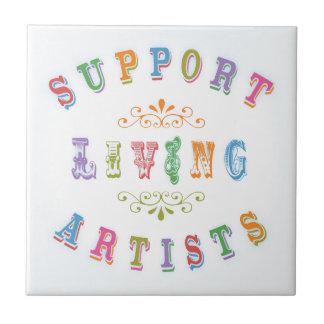 Carreau Artistes vivants de soutien