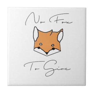 Carreau Aucun Fox à donner