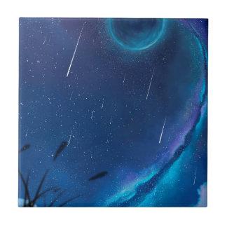 Carreau Avec la bénédiction des étoiles