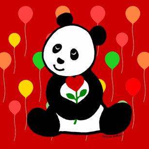 Carreaux Panda De Bande Dessin En Céramique Zazzlefr