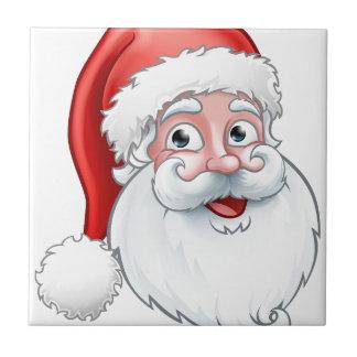 Carreau Bande dessinée du père noël de Noël