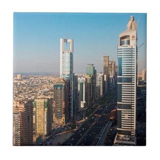 Carreau Bâtiments le long de cheik Zayed Road, Dubaï