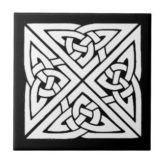 Carreau Belle conception celtique d'art de noeud