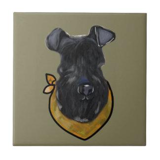 Carreau Bleu de Kerry Terrier