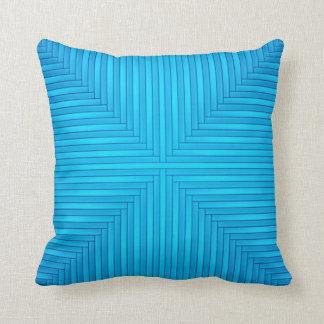 Carreau bleu en pastel oreiller