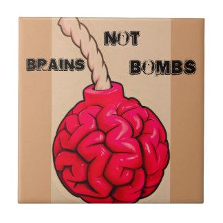 Carreau Bombes de cerveaux pas