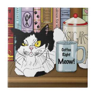 Carreau Bon Meow de café ! !