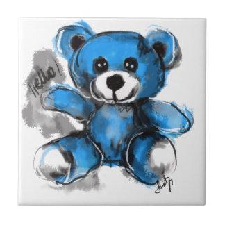 Carreau Bonjour ours