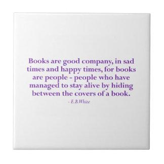 Carreau Books Are Good Company